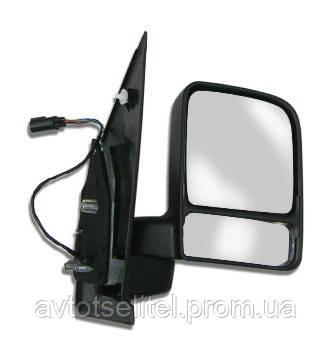 Зеркало левое электро с обогревом TRANSIT CONNECT 03-