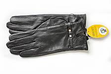 Женские кожаные перчатки ВЯЗКА СЕНСОРНЫЕ Большие W22-160043s3, фото 3