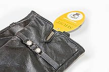 Женские кожаные перчатки Вязка Сенсорные W22-160043, фото 2