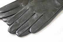 Женские кожаные перчатки Вязка Сенсорные W22-160043, фото 3