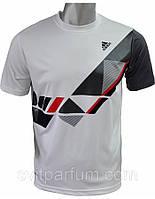 Футболка мужская  Adidas из полиэстера, магазин одежды, футболки дешевые цены