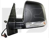 Зеркало правое электро с обогревом 6pin с указателем поворота без подсветки Single Glass Tour
