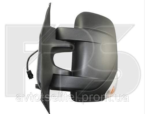 Зеркало правое механическое без обогрева 2pin с указателем поворота без подсветки Movano 2010-