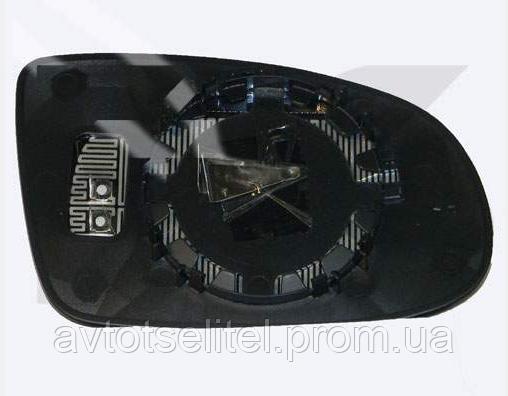 Вкладыш зеркала правый с обогревом выпуклый Omega B 1994-99