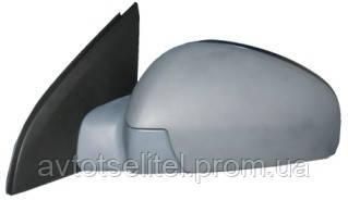 Зеркало правое электро с обогревом грунт выпуклое 5pin Vectra C 2006-09