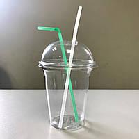 Купольный комплект 300 мл АРЕТ Huhtamaki (стакан+крышка)