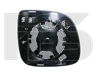 Вкладыш зеркала лев. с обогр. асферич.  Volkswagen Touareg 2007-09