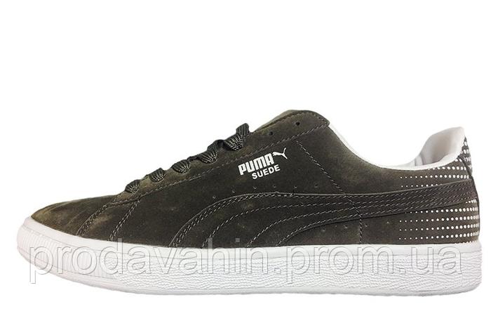 Кроссовки мужские Puma Suede Court Star Grey Пума суед, интернет магазин  кроссовок c00f10ae970