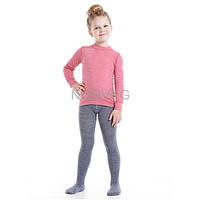 Norveg Soft, цвет светло-серый меланж, утепленные шерстяные термоколготки