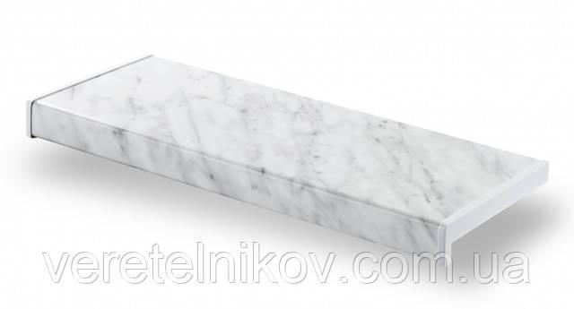 Матовый подоконник Parapet Standard (Серый мрамор)