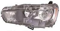 Фара передняя для Mitsubishi Outlander XL 10-12 левая (FPS) линзованная под электрокорректор