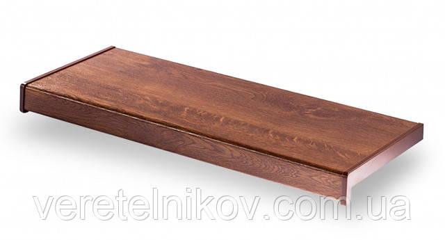 Матовый подоконник Parapet Standard (Золотой дуб).