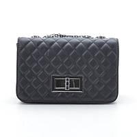 Клатч черный Chanel style 06