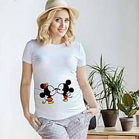 Веселая футболка для беременной
