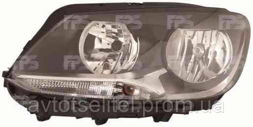 Фара передняя для Volkswagen Caddy 11- левая (DEPO) под электрокорректор