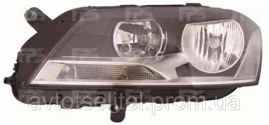 Фара передняя для Volkswagen Passat B7 10- левая (DEPO) под электрокорректор