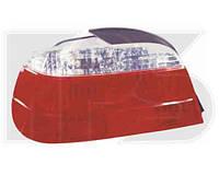 Фонарь задний для BMW 7 E38 94-02 левый (DEPO) красно-белый