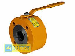 Кран шаровый стальной межфланцевый 11лс51п BREEZE серия Europe Ду15-100