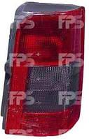 Фонарь задний для Citroen Berlingo 97-02 правый (DEPO) 1 дверь, дымчатая вставка
