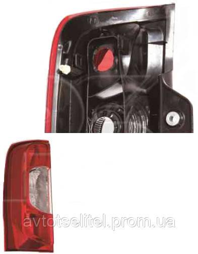 Фонарь задний для Fiat Fiorino Qubo 08-, 2 дв. правый (DEPO)