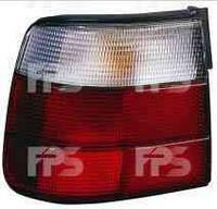 Фонарь задний для BMW 5 E34 седан 88-97 левый (DEPO) внешний, бело-красн.