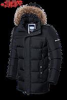 Зимний пуховик мужской черный Dress Code 4126C