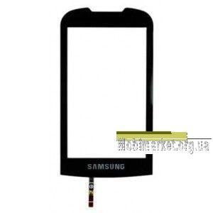 Сенсор (тачскрин) для Samsung S5560, черный