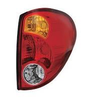 Фонарь задний для Mitsubishi L200 05- левый (DEPO) на крыле, верхний, красный