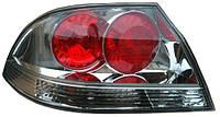 Фонарь задний для Mitsubishi Lancer IX 04-09 левый (DEPO) красно-белый, прозрачный