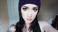 """Фиолетовые линзы для светлых глаз, модель """"Фиолетовые кукольные"""""""