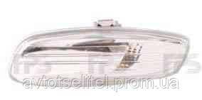 Указатель поворота на зеркале Citroen C4 05-09 правый, прозрачный (DEPO)
