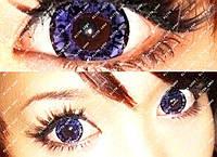 """Цветные косметические линзы """"Фиолет 3"""""""