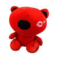 """Антистрессовая игрушка мягконабивная """"SOFT TOYS """"Медведь-поцелуй"""""""