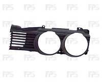 Решетка-окуляр левая (кроме740/750) для BMW 7 (E32) 1987-94