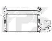Радиатор охлаждения автомобильный основной для CITROEN BERLINGO 97-02, PEUGEOT PARTNER 97-02