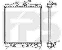 Радиатор охлаждения автомобильный основной для HONDA CIVIC 92-95 HB (EG/EH)/CIVIC 92-95 SDN (EG/EH)/CIVIC 95-00 EUR