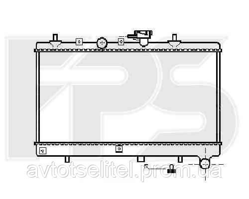Радиатор охлаждения автомобильный основной для KIA RIO 00-05