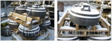 Особенности направляющих колес / ленивцев ITR  направляющие колеса в сварной и литой конструкции; смазка на весь срок службы; с целью экономии затрат возможно восстановление рабочих поверхностей колес; усиленные боковые стенки для эксплуатации в тяжелых условиях.