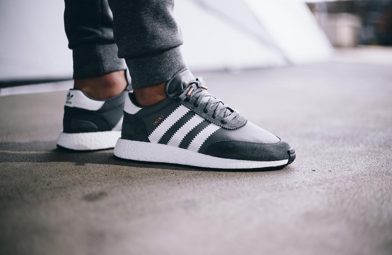 "Кроссовки Adidas Iniki Runner Boost ""Grey"""
