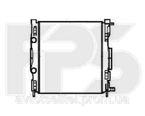 Радиатор охлаждения автомобильный основной для RENAULT MEGANE 03-08 SCENIC/MEGANE 03-06 (КРОМЕ SCENIC)/MEGANE 06-08 (КРОМЕ SCENIC)