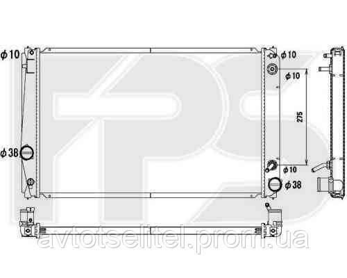 Радиатор охлаждения автомобильный основной для TOYOTA RAV4 06-10/RAV4 10-12