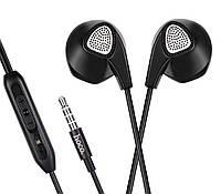 Наушники Hoco M2 Control  Earphone Black,White