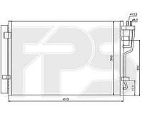 Радиатор кондиционера для HYUNDAI ELANTRA 06-10 (HD)/i30 08-12, KIA CEED / PRO CEED 07-12