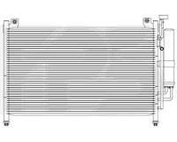 Радиатор кондиционера для MAZDA 2 07-11 (DE)