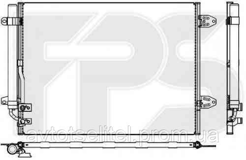 Радиатор кондиционера для VW PASSAT 11-15 (B7)/PASSAT CC 08-12