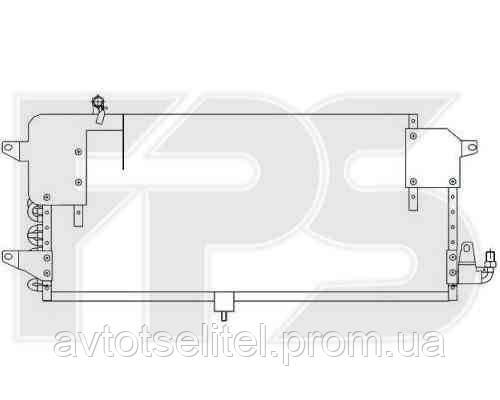 Радиатор кондиционера для VW PASSAT 88-93 (B3)/PASSAT 94-96 (B4)