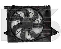 Вентилятор в сборе для HYUNDAI SANTA FE II 09-12, KIA SORENTO 10-13