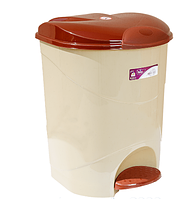 Ведро для мусора с педалью Bella  No: 2(19lt)