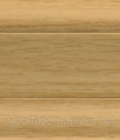 W 211 Дуб кордоба - підлоговий плінтус з каб.каналом Dollken SLK 50