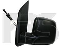 Зеркало левое механич без обогрева текстурное Fiorino 2008-